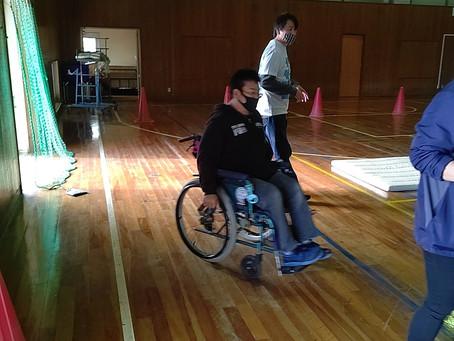 南知多町社会福祉協議会主催     「肢体不自由の実践教室」にサポーターとして参加!