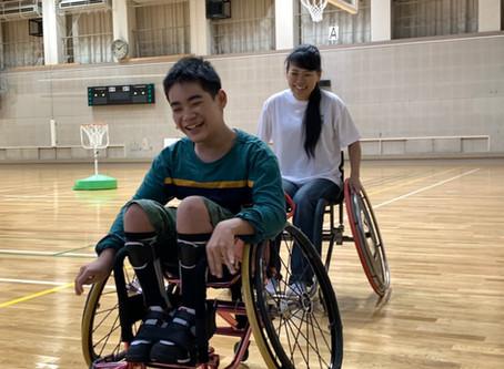 10/22 名古屋フェニックスさんの車いすツインバスケ 練習見学会&プチ体験会 に行ってきました