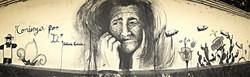mural inspirado en  Sidonia