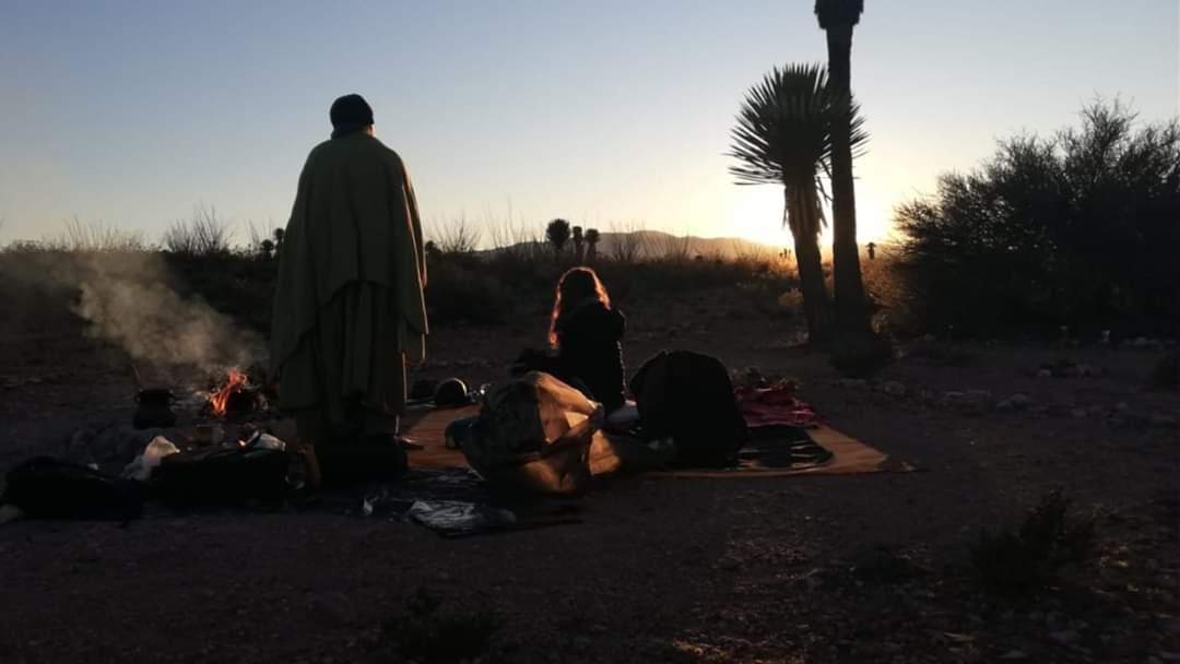 En el desierto con Maria