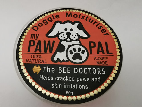 my PawPal- 50gm Doggie protectant and moisturiser.