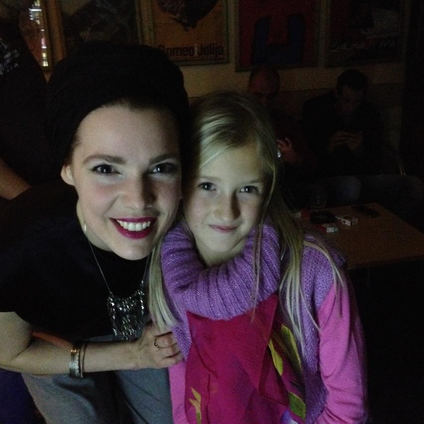 Katja and me : )!