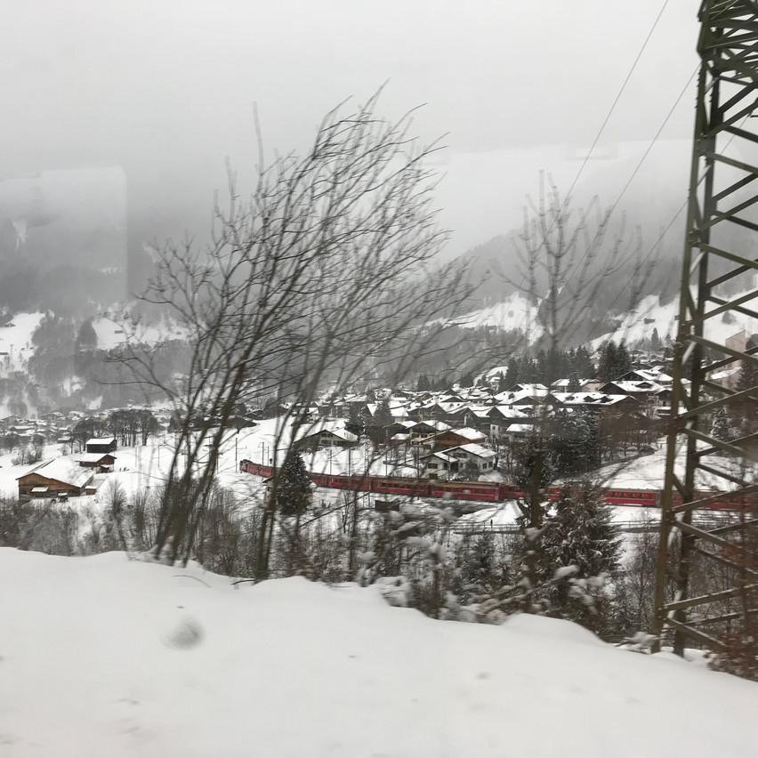 cold, snowy winter