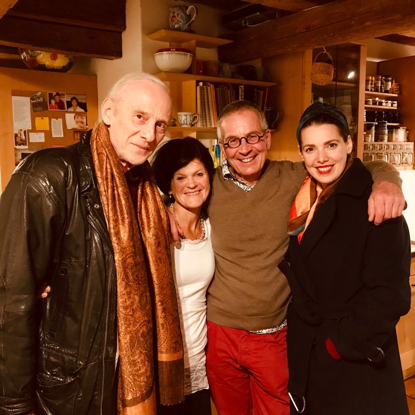 mathias, Brita, Philipp & moi