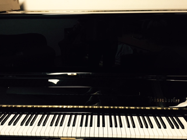 with a wonderful piano