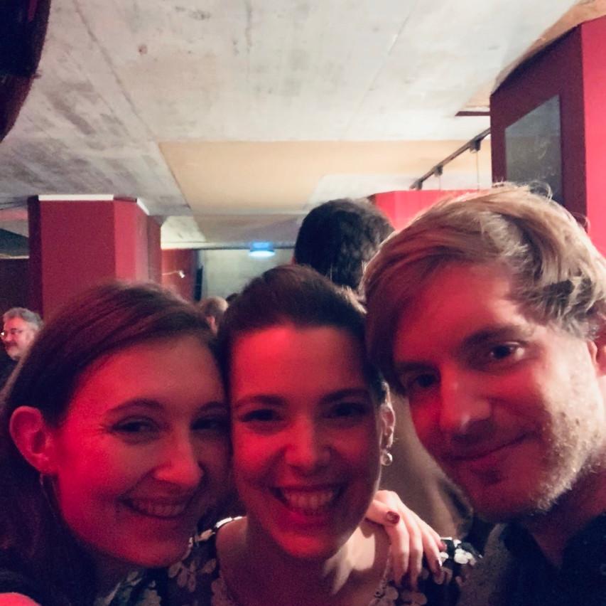Greg, Clara & moi