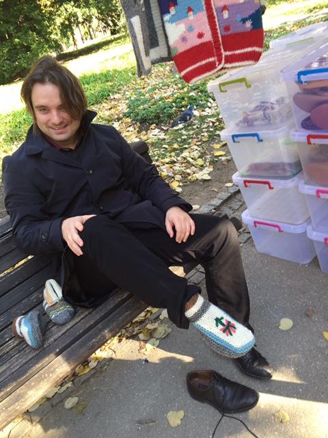 Thomas & the socks : )