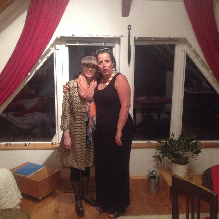 Miss Pinter & me!