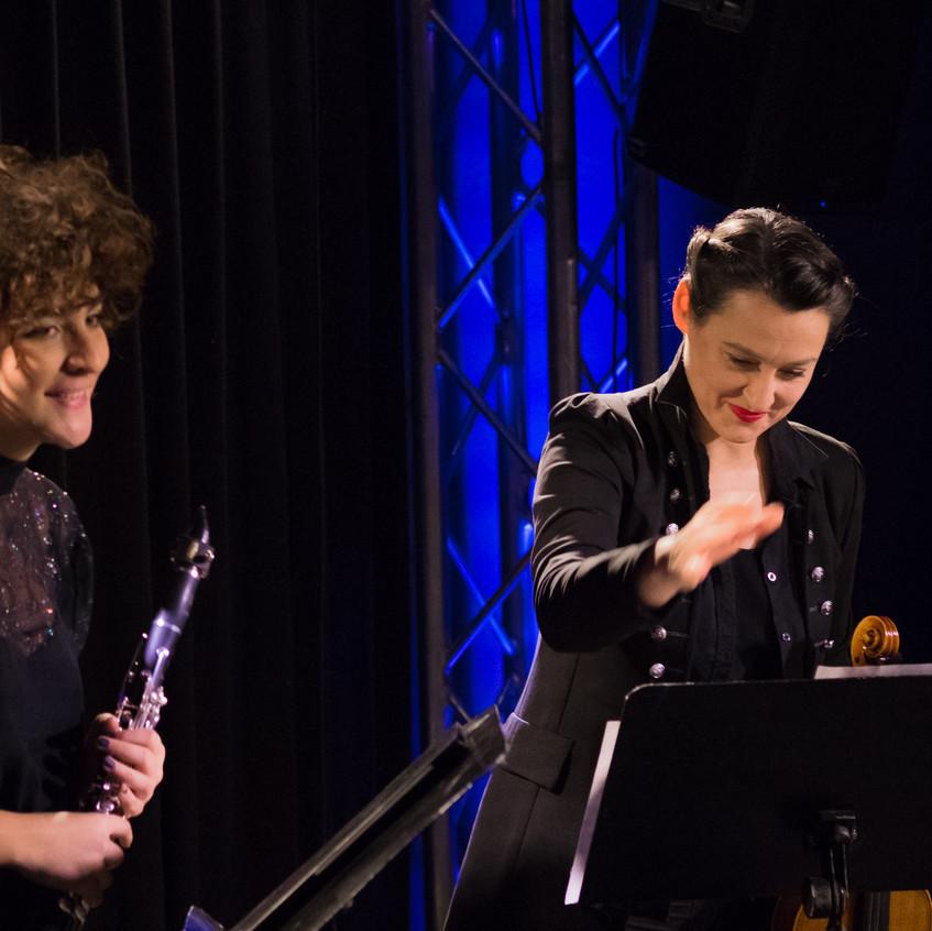 Mona Matbou Riahi & Jelena Poprzan