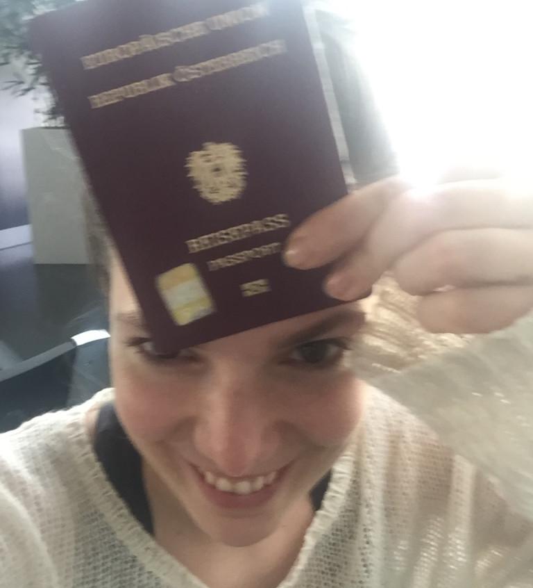 Got my passport!!!