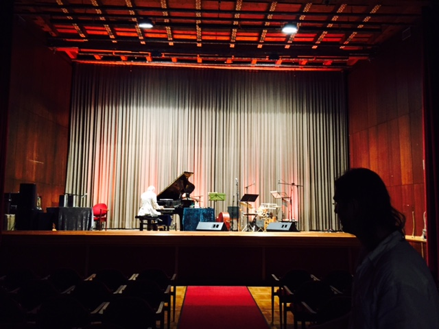 Soundchecking with Rainer Floderer