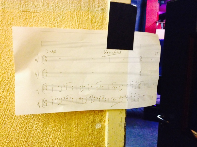 """""""Vexations"""" backstage!"""