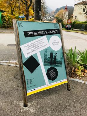 The Brahms Song Book Premiere - Waidhofen/Ybbs (AT), Kristallsaal/Schloss Rothschild