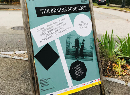 The Brahms Song Book Premiere - Waidhofen/Ybbs (AT), Kristallsaal/Schloss Rothschild