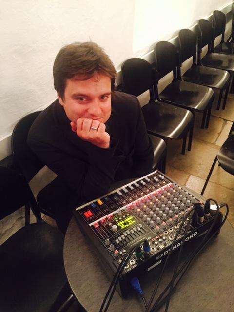 Thomas Egger and his cute mixer