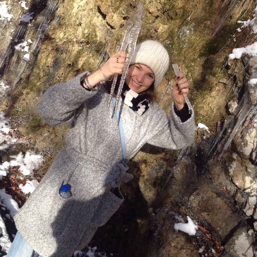 winter in Switzerland : )