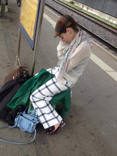 sleepy traveler : )!