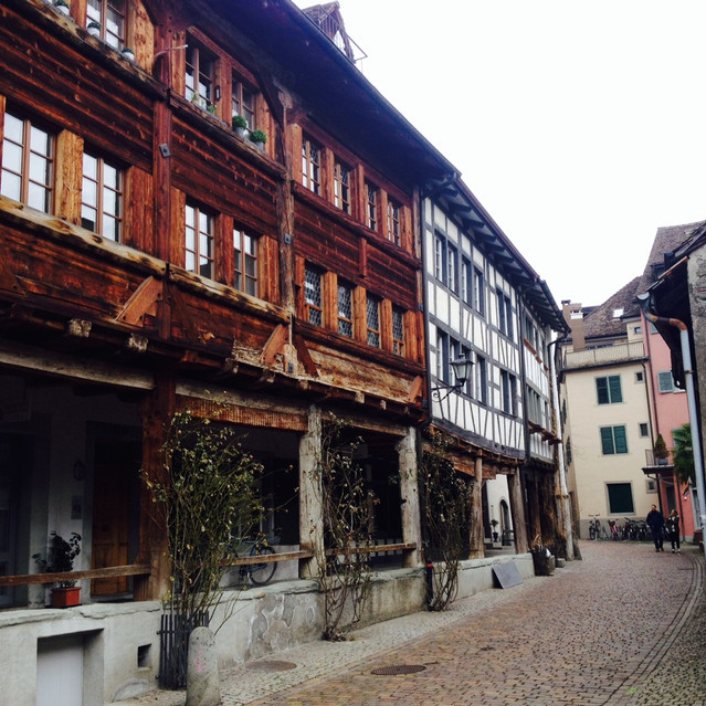 beautiful old town of Rapperswil