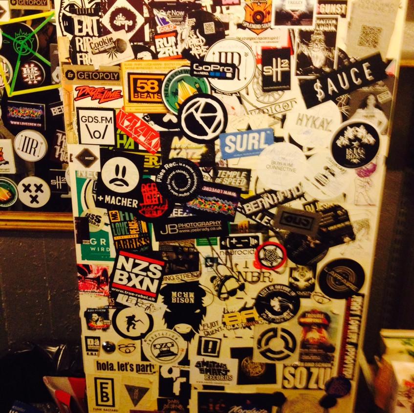 fridge backstage : )