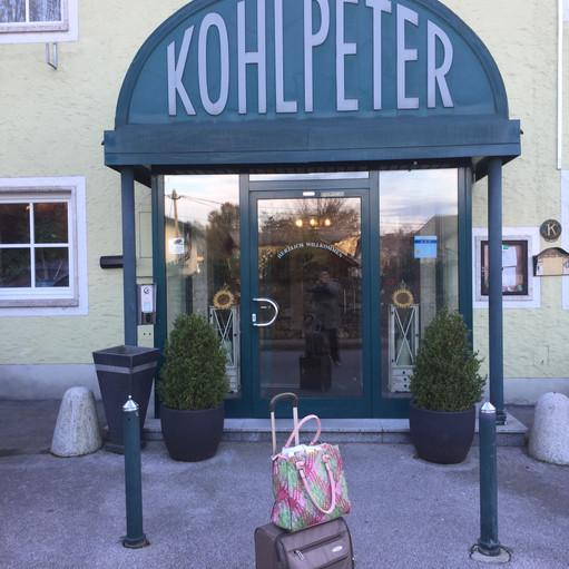 """arriving at """"Kohlpeter"""""""