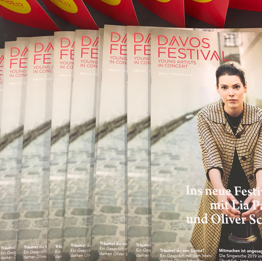 The Davos Festival Magazin!!!