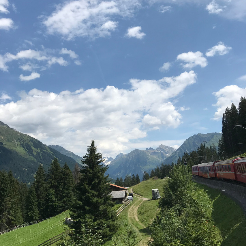 up, up to Davos