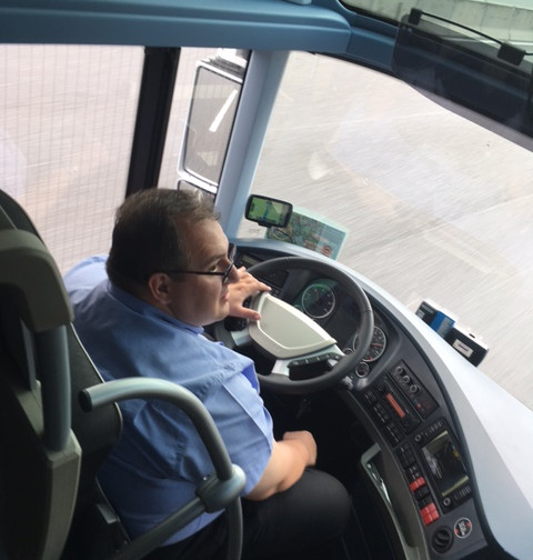 Our nice and patient bus driver!!!