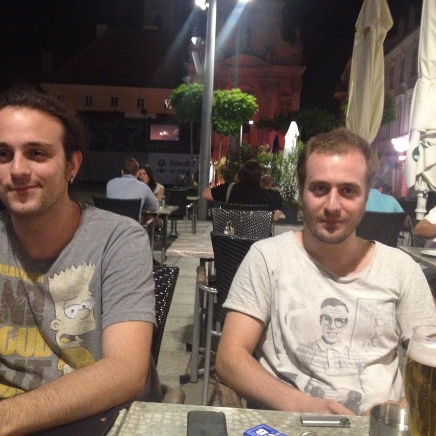 Ahmet Bahadir Gokce & his friend