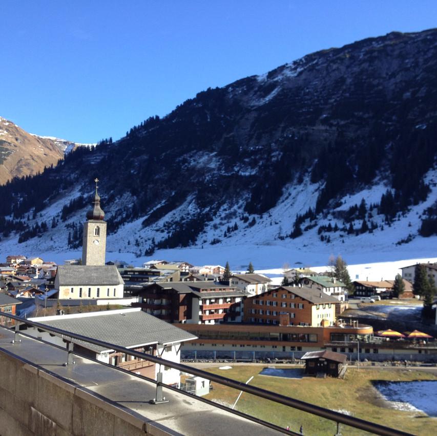 mountain view...