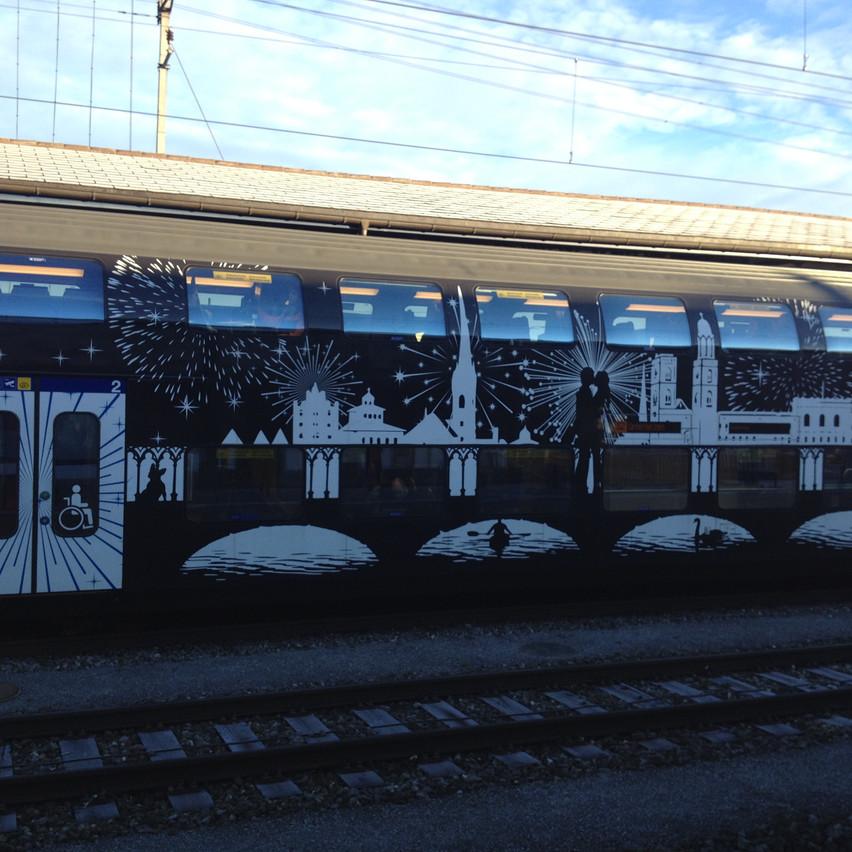 trains, trains, trains : )