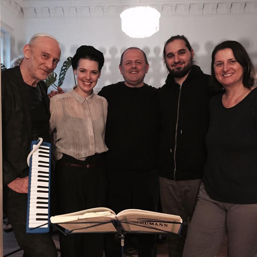 last rehearsal at rüegg's