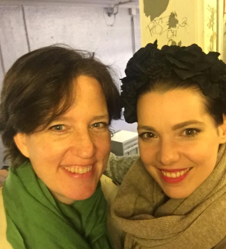Jeannine Hirzel & moi