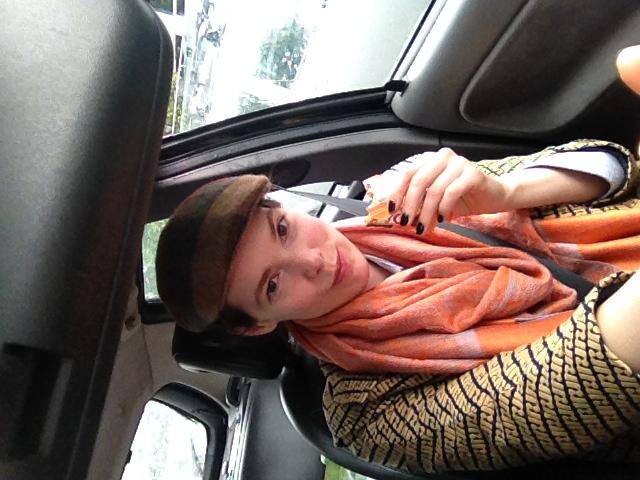 Me in my Saab : )
