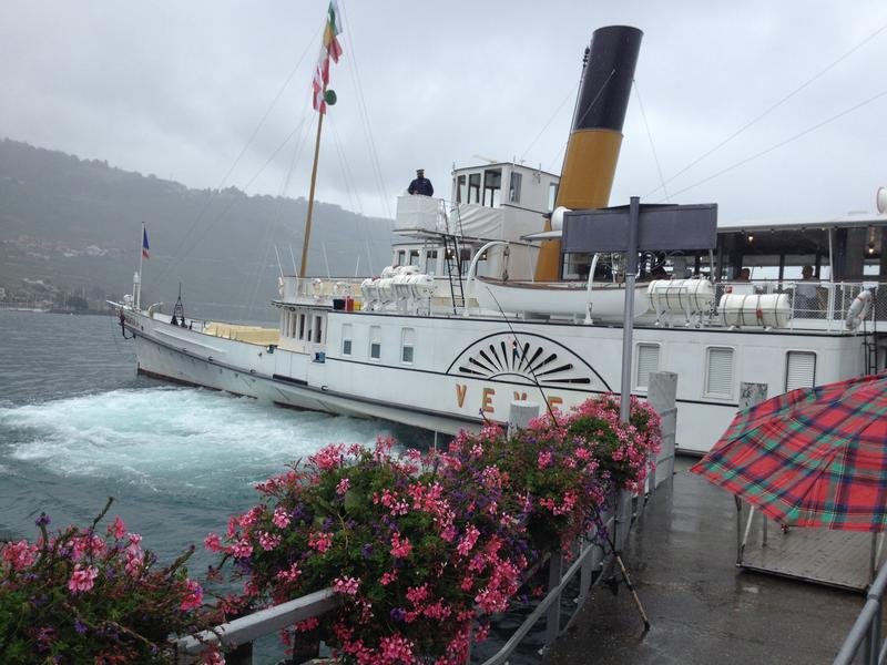 Paddle steamer Vevey