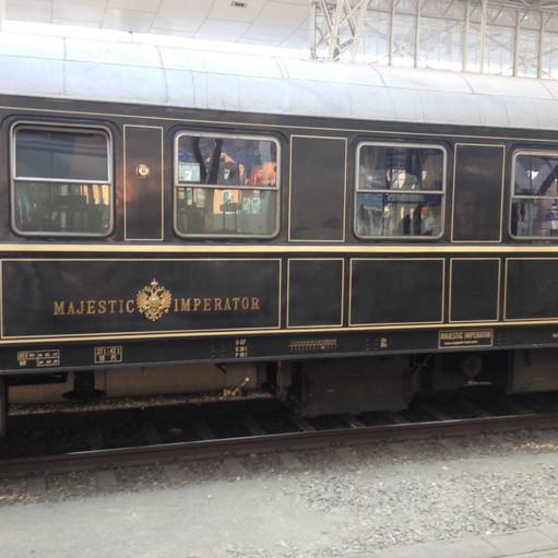 Orient Express at Salzburg Hbf!!!