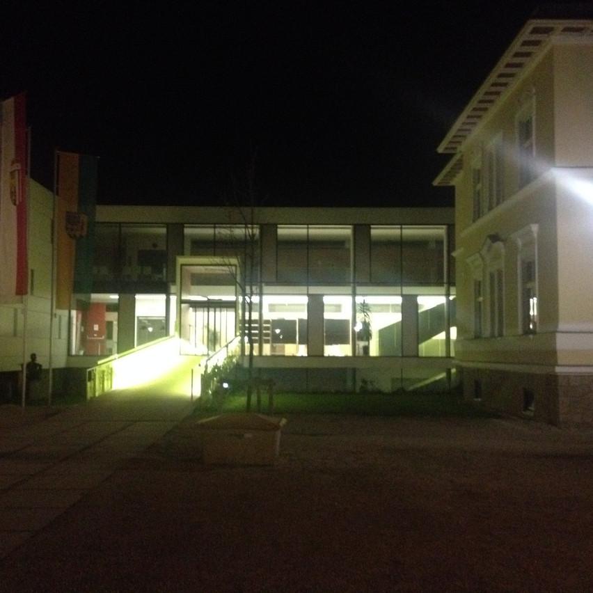 entrance of our venue...