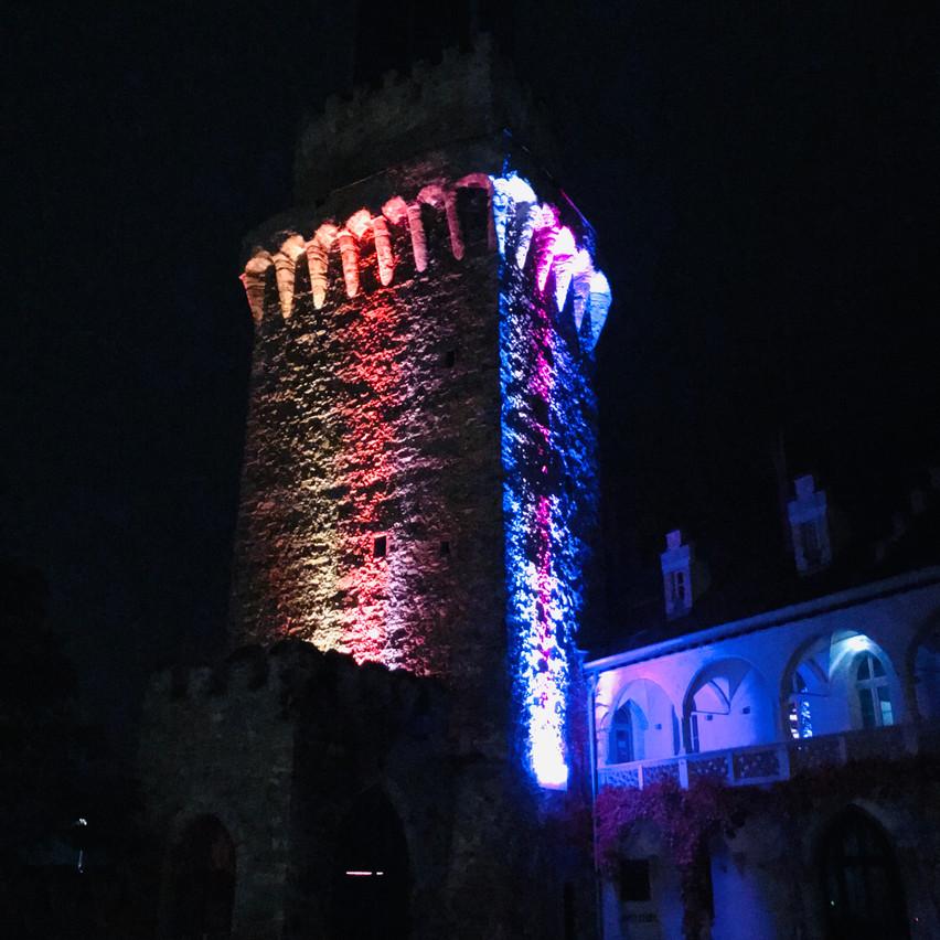 bye bye beautiful castle!