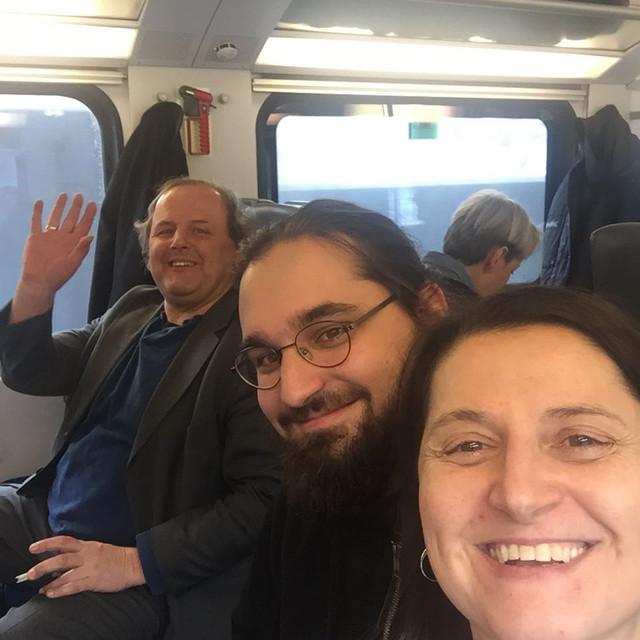 Ingridi, Mario & Hans