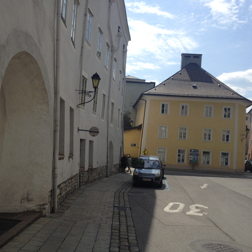 and streets of Hallein