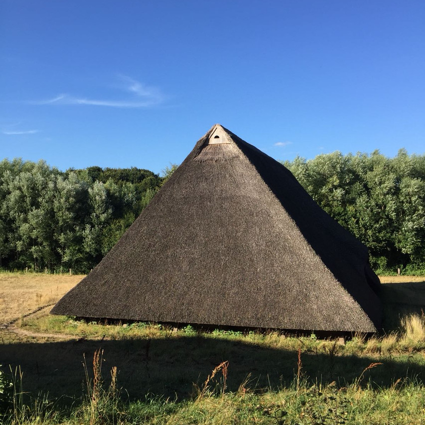 the pyramid of Molfsee : )