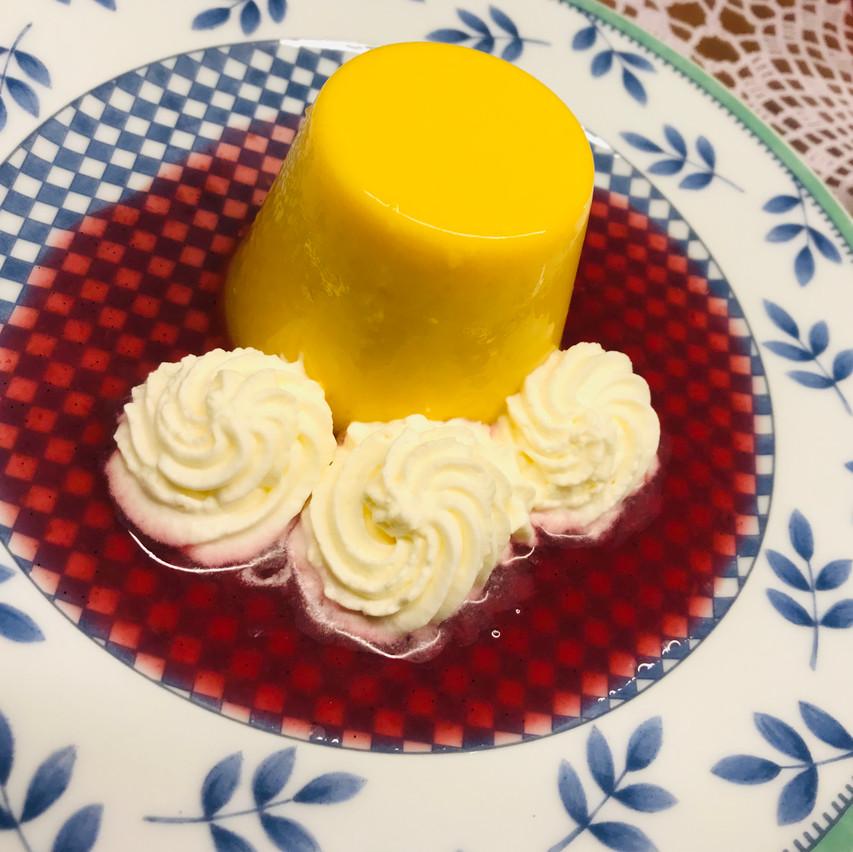 the mango pudding!!!