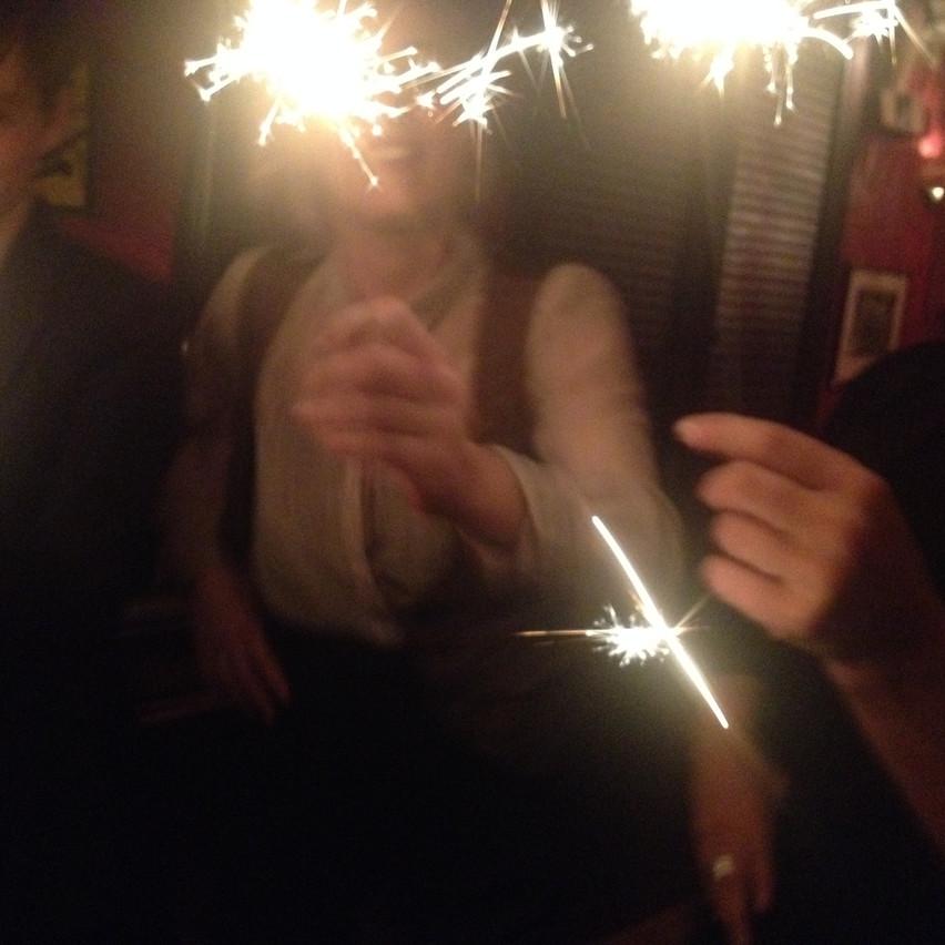 Birthday celebration : )!