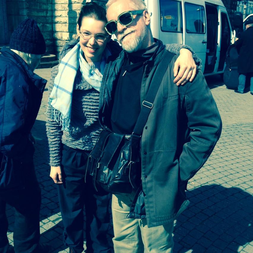 Look who I met: Mr Puschnig!!!