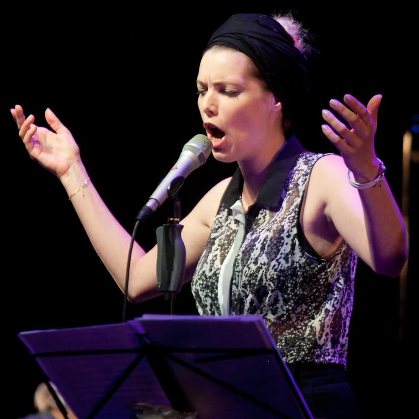 Lia singing Schubert's Winterjourney