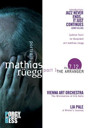 Portrait mathias rüegg at Porgy & Bess    7. - 9.12. 2017
