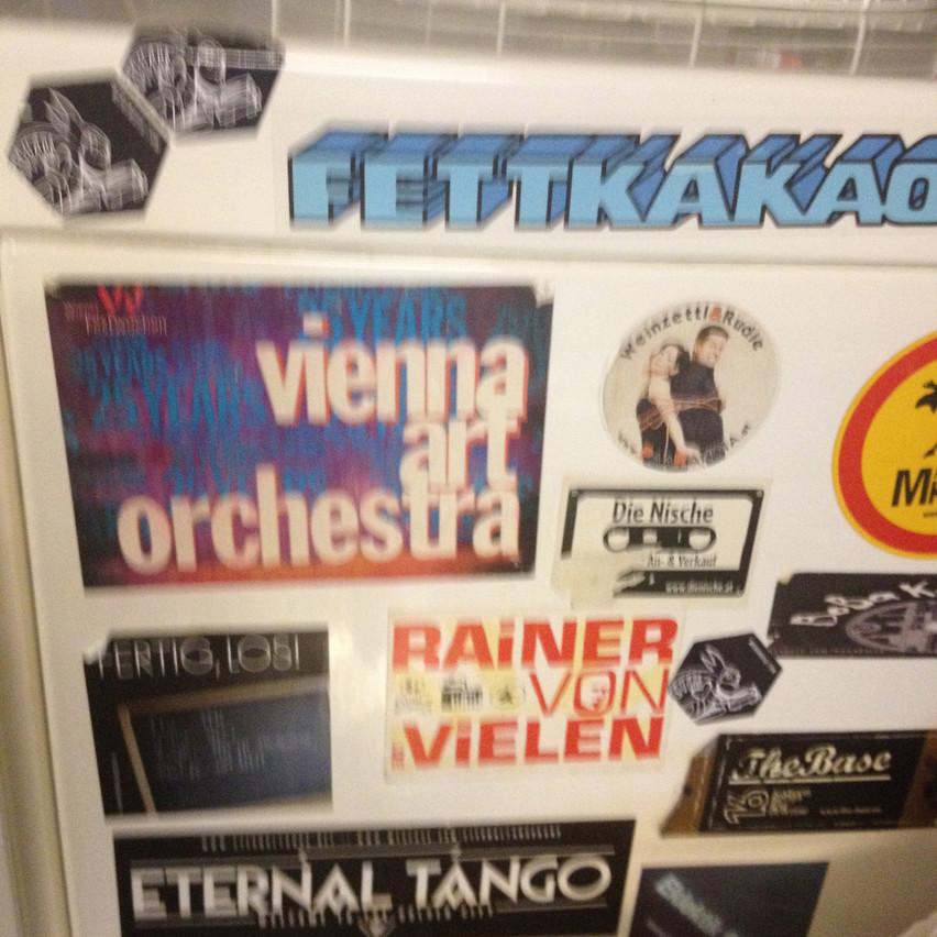 sticker time Vienna Art Orchestra!!!