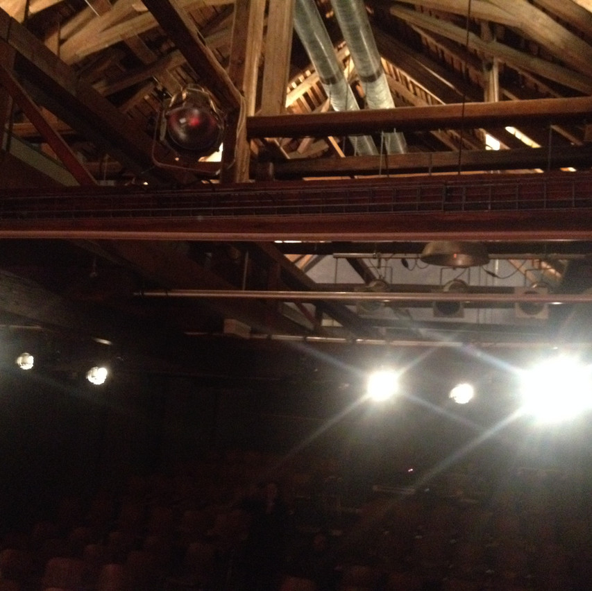look at the ceiling!