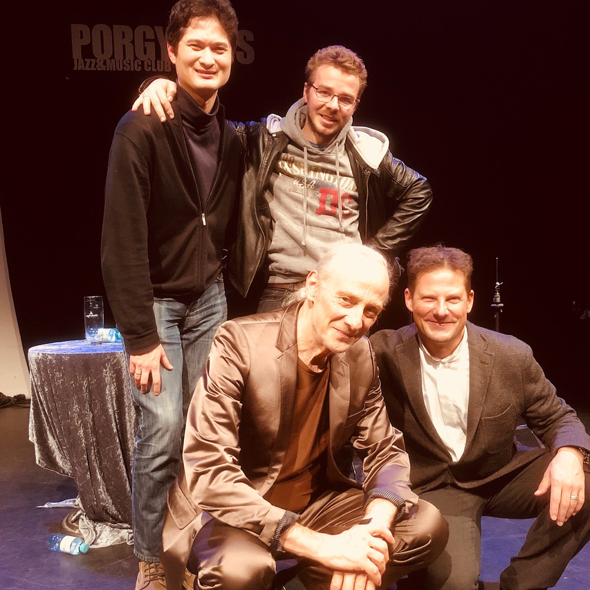 Schnyder Trio & their happy composer
