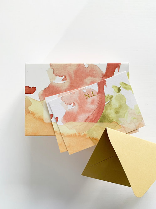 Monogram Kart Seti • Oak •