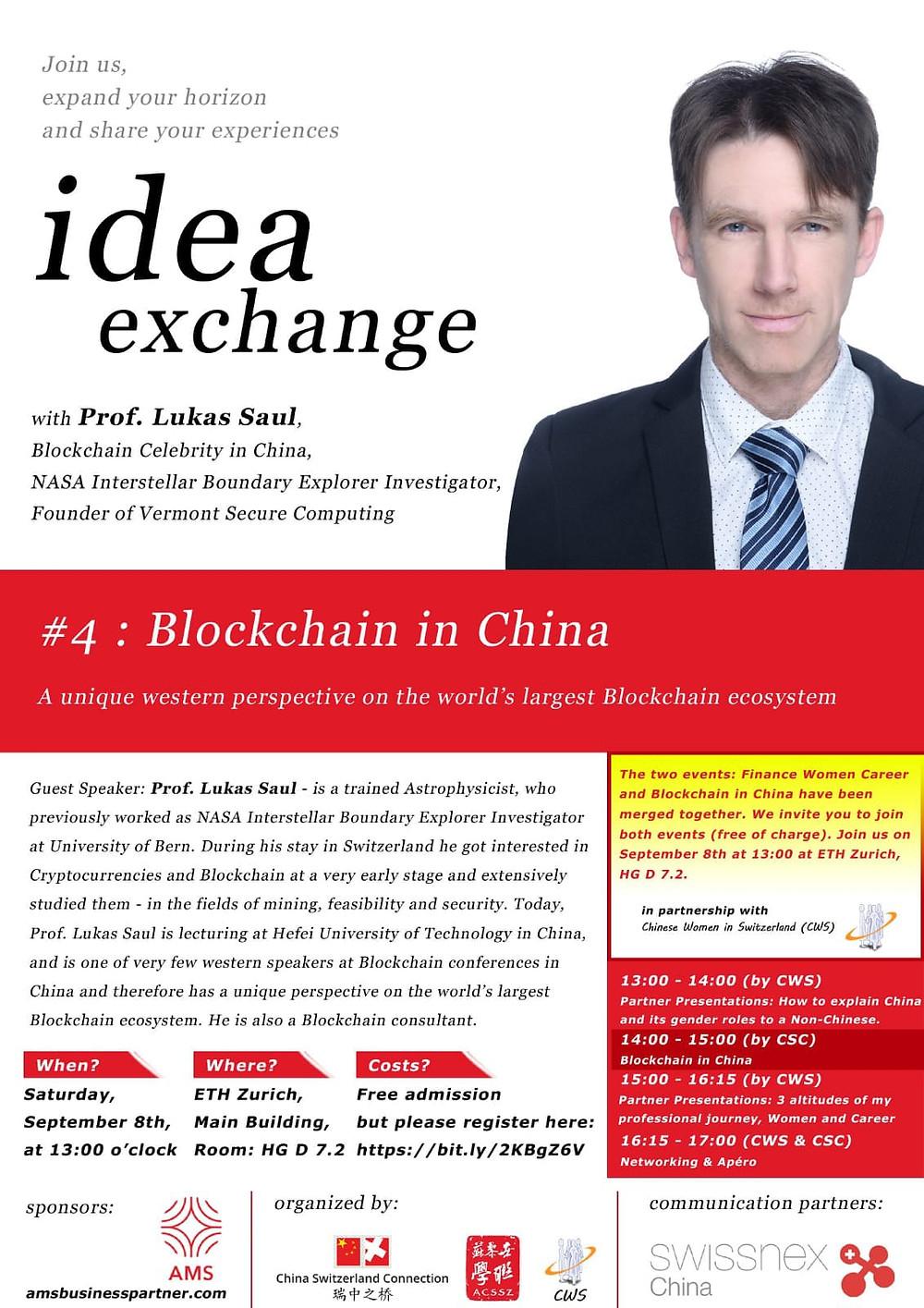Per maggiori informazioni: http://www.chinaswiss.org/ & http://www.acssz.org/